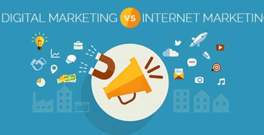 تفاوت دیجیتال مارکتینگ با بازاریابی اینترنتی